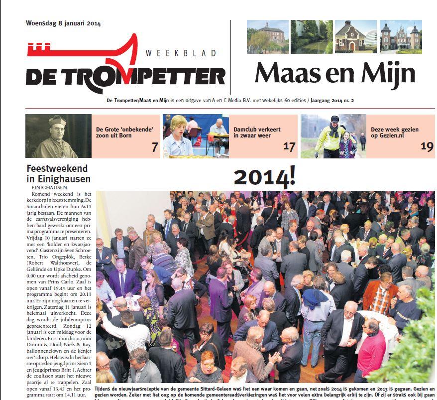 2014-01-08 Maas en Mijn - feestweekend in Einighausen