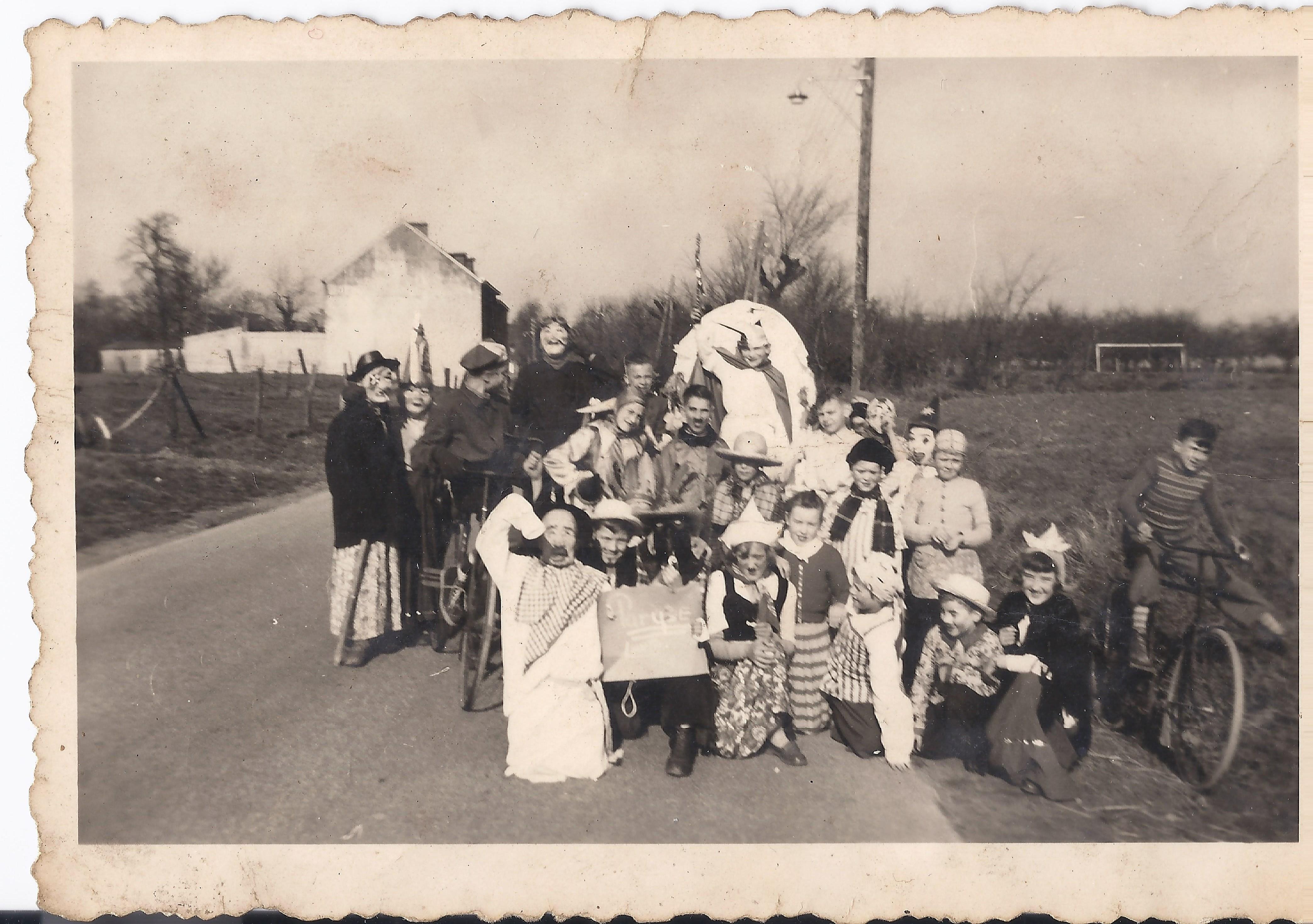 jo stevens carnaval 1957 Jeugdprins Jo I Stevens