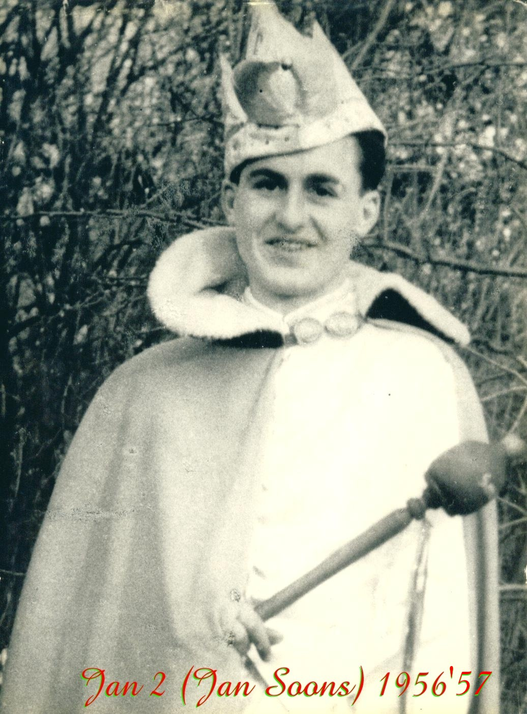 1956 en 1957 Prins Jan (II) Soons