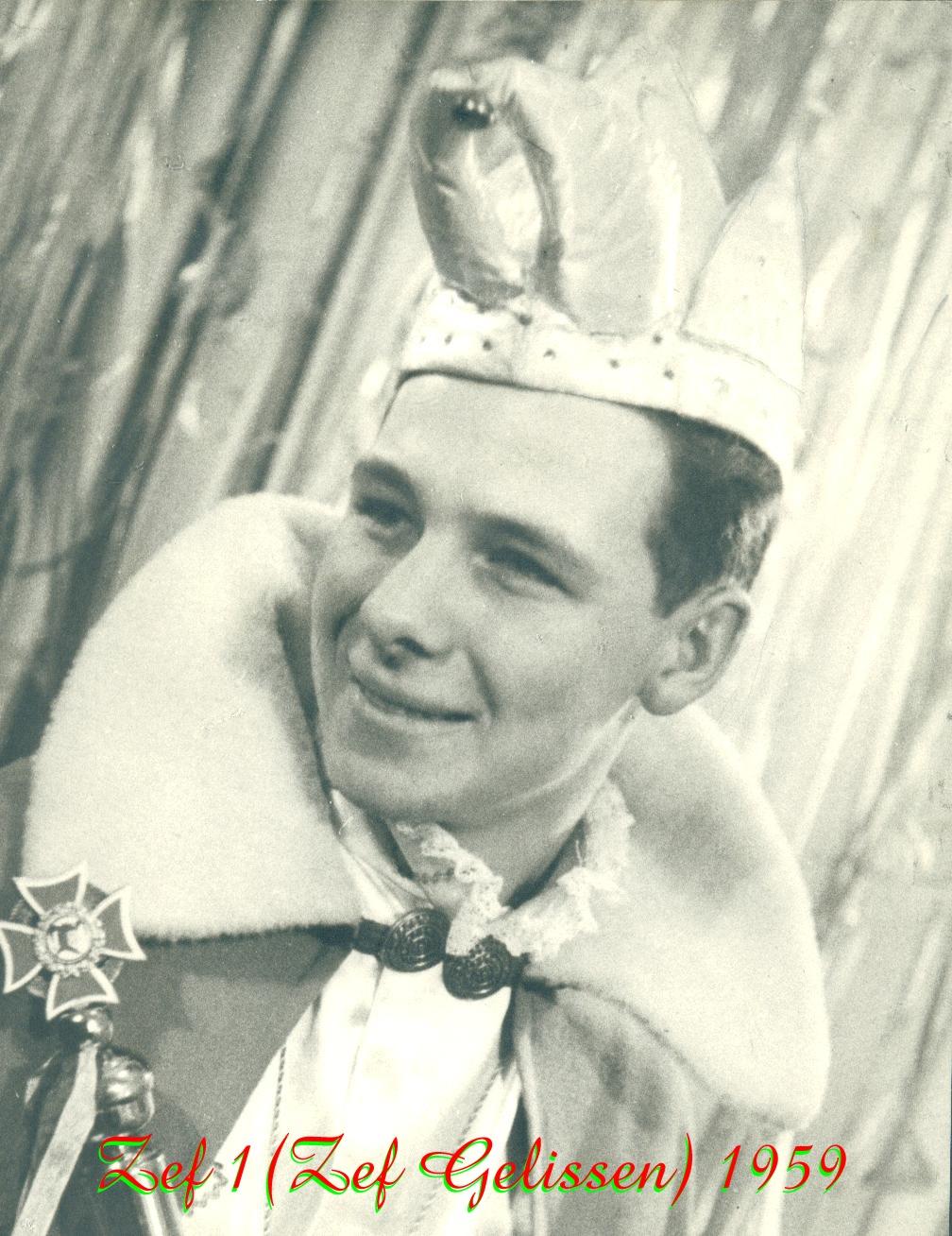 1959 Prins Zef (I) Gelissen