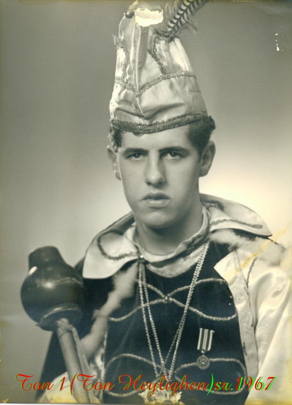 1967 Prins Ton (I) Heylighen