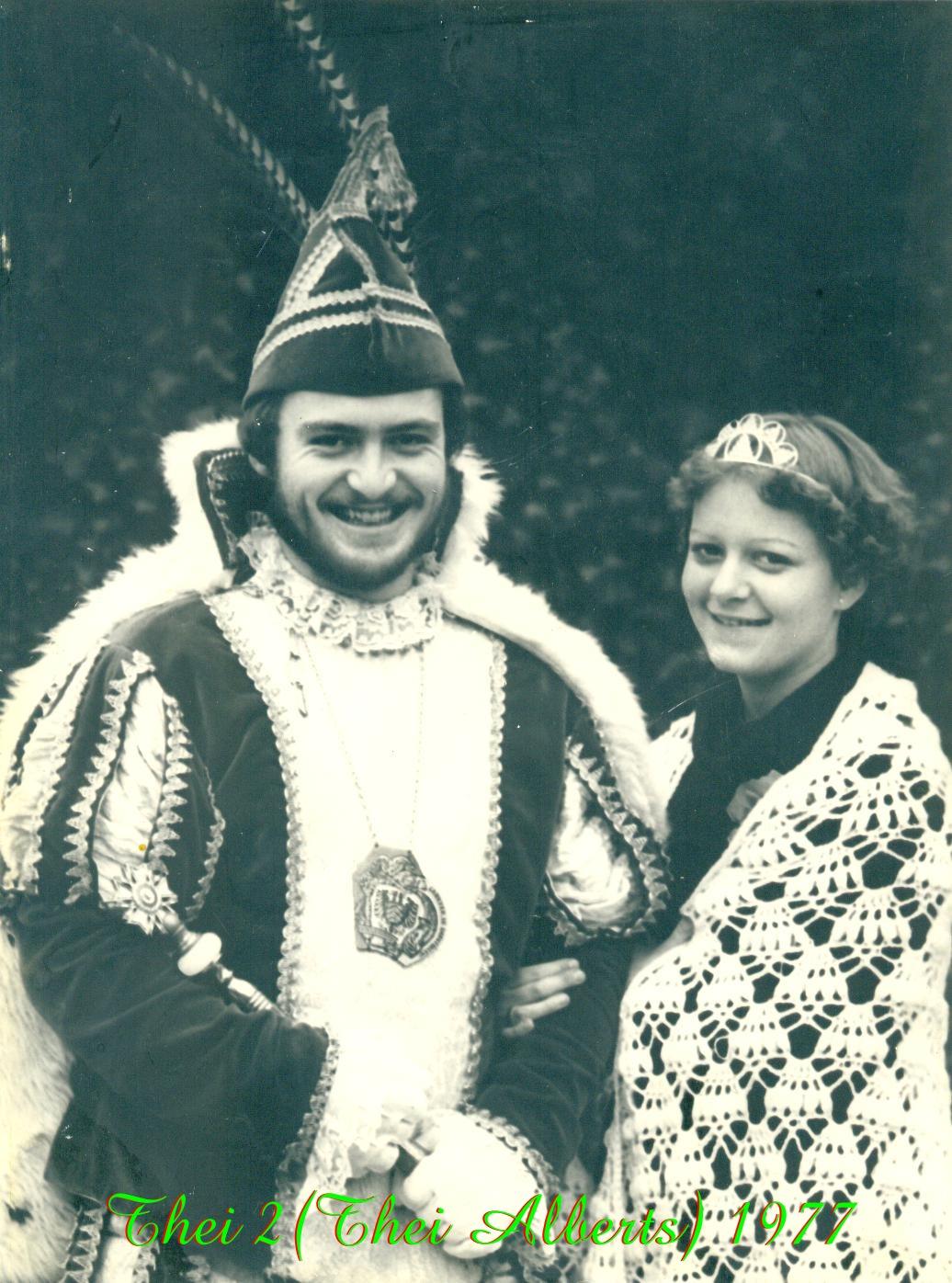 1977 Prins Thei (III) Alberts