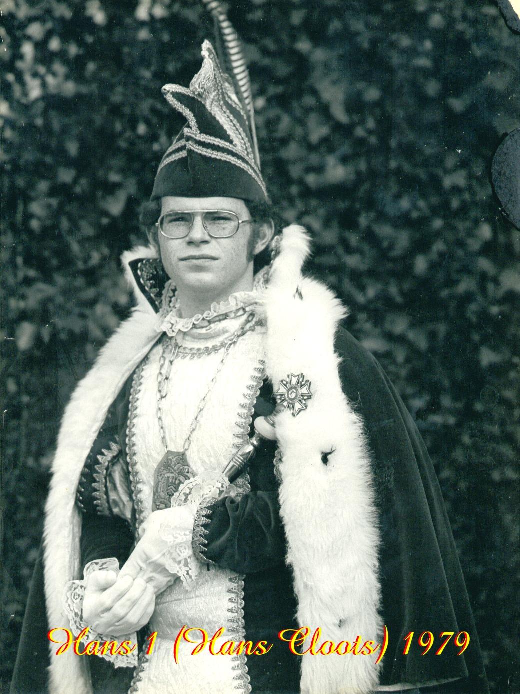 1979 Prins Hans (I) Cloots