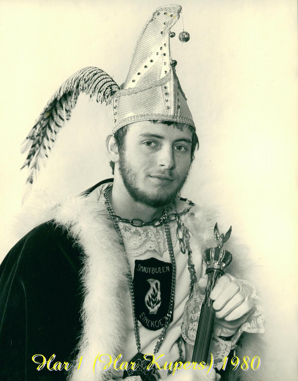 1980 Prins Har (II) Kupers