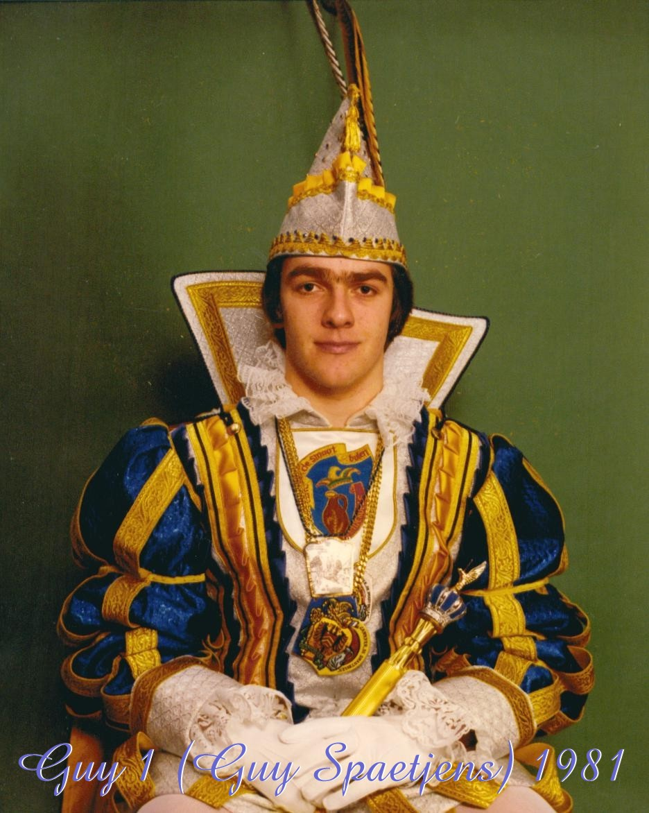 1981 Prins Guy (I)  Spaetjens