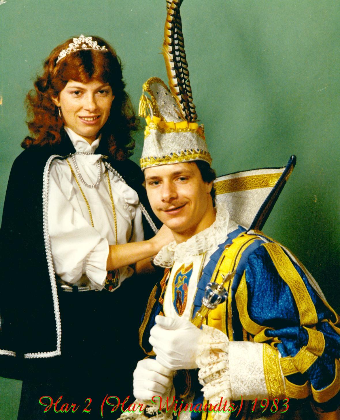 1983 Prins Harrie (III)  Wijnants