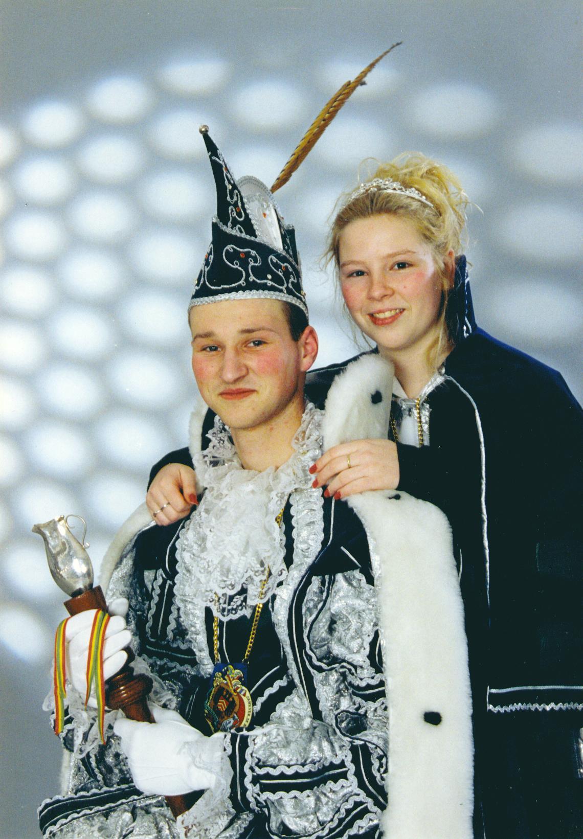 1997 Prins Jeroen (I) Pepels & prinses CArol