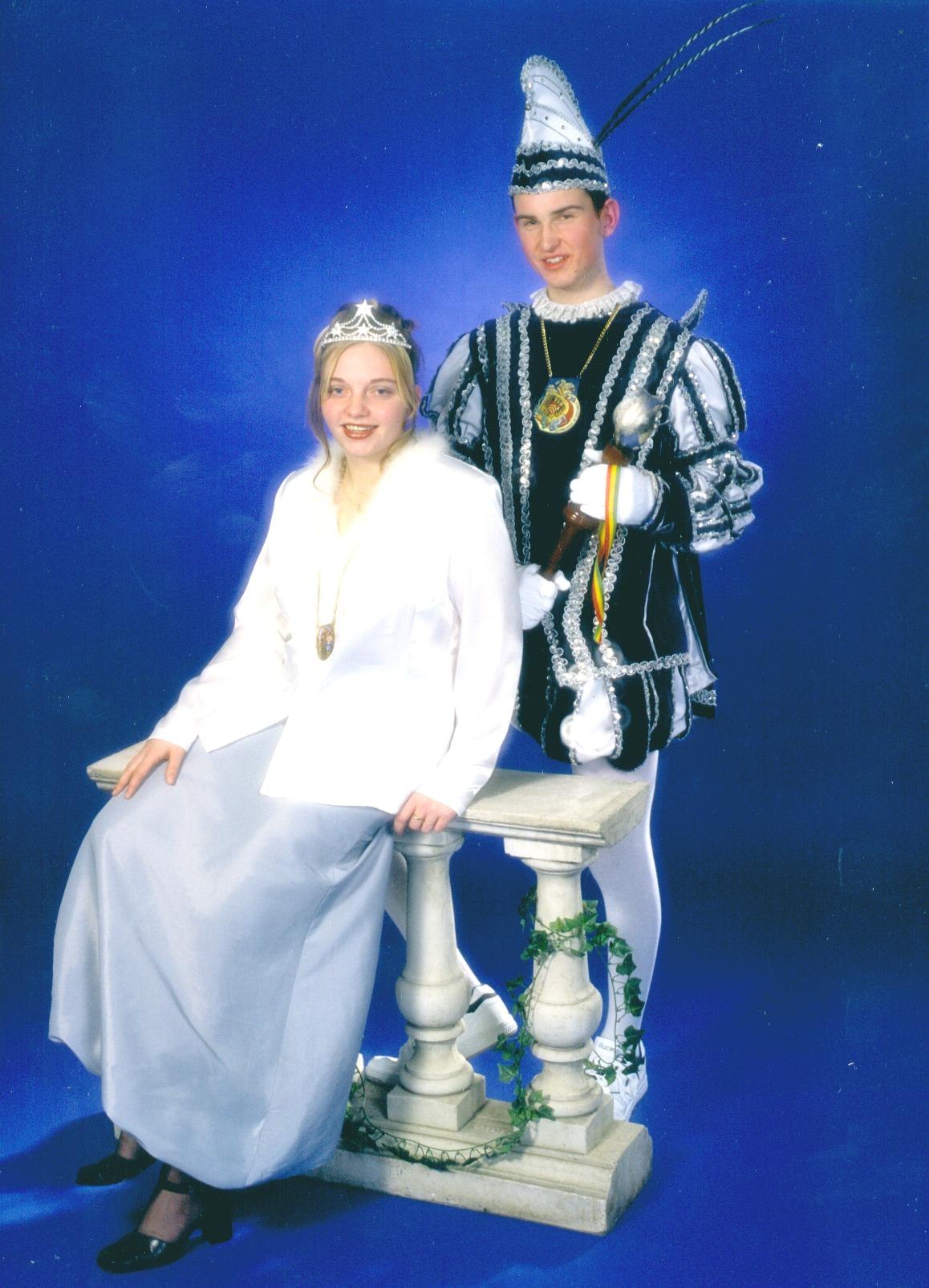 2000 Prins Guido (I) Wetzels & prinses Tammy