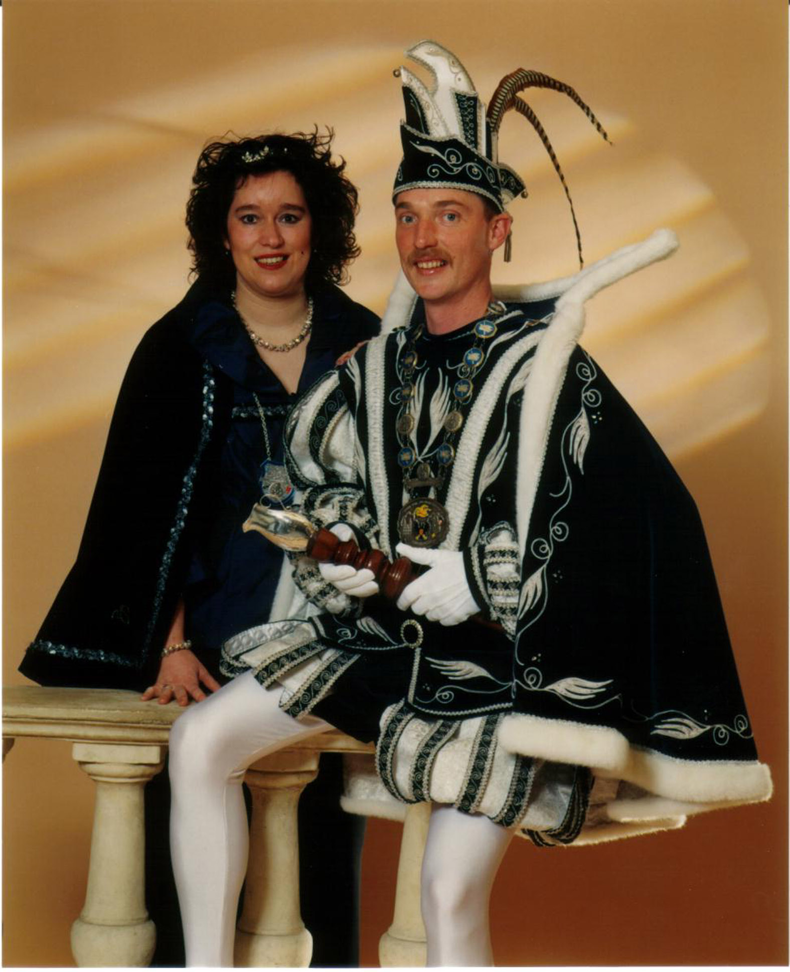 2004 Prins Peter (III) & prinses Angelique Lumens