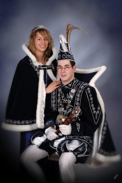 2007 Prins Bert II Stevens & Prinses Yvonne Heijnen