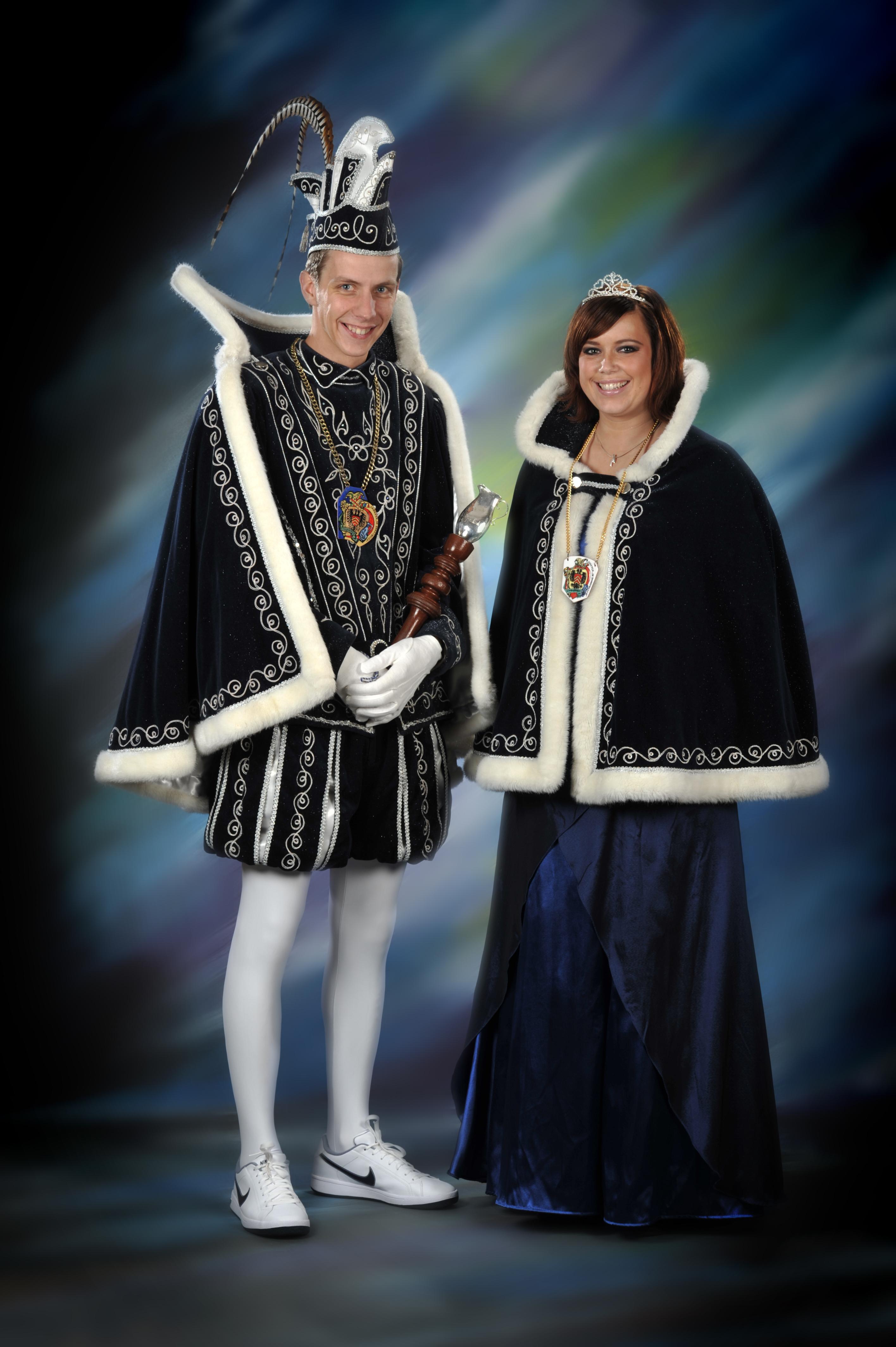 2011 Prins Bart (I) Erren & prinses Michella Lazdins