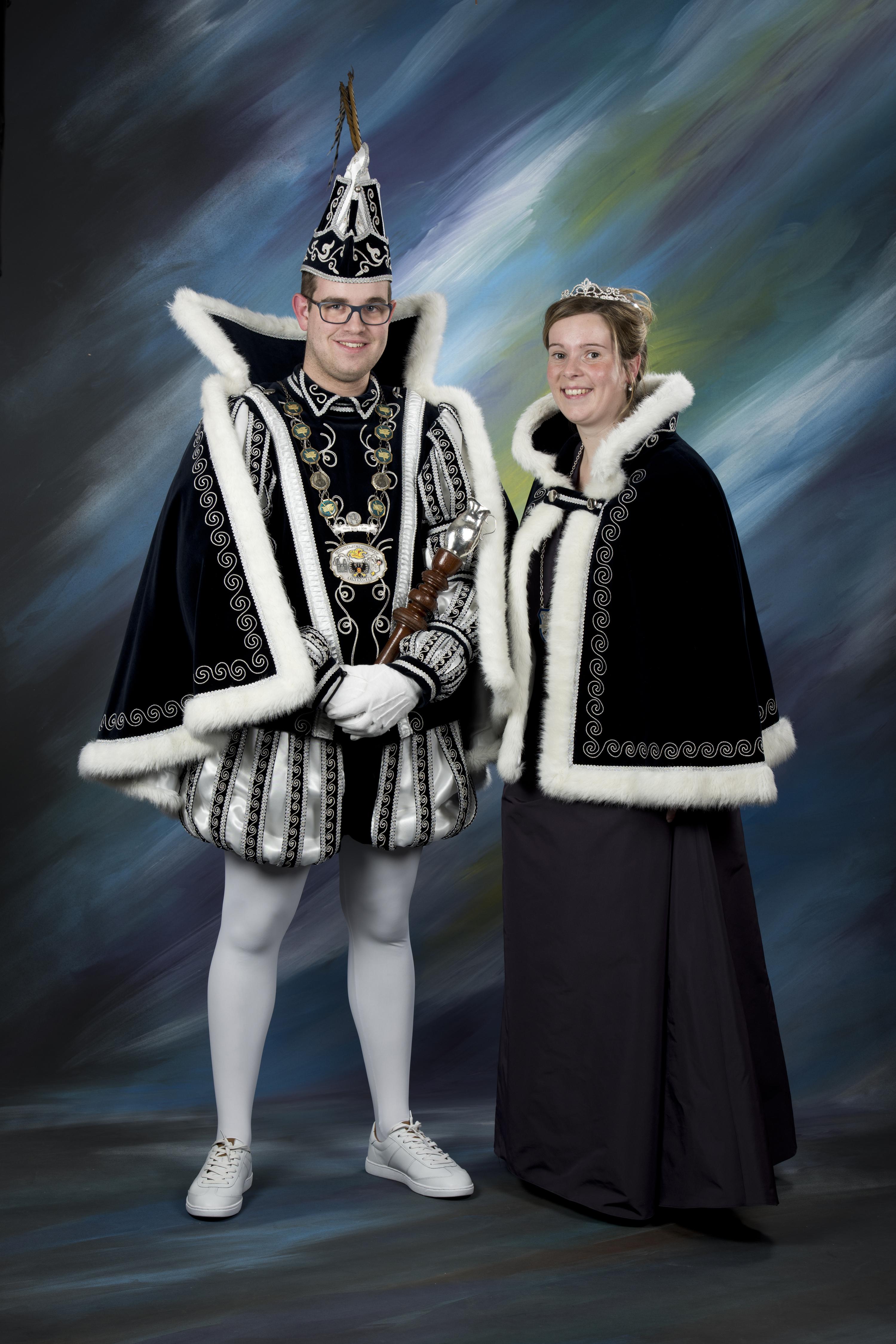 2016 Prins Roel (I) Hameleers & prinses Milou Winteraeken